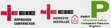 NICEIC approved contractor, domestic installer, Part P